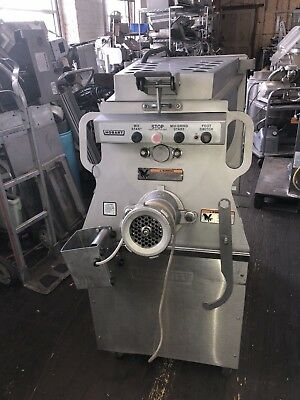 Hobart 1532 #32 Stainless Meat Mixer Grinder 7.5hp 3ph 208v & foot switch