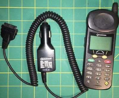 QUALCOMM AirTouch QCP860 Collectible Phone RARE Vintage Mobile Cell MultiBand