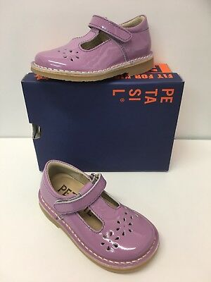 Petasil Cecily Girls Patent Leather  T-bar in Lilac