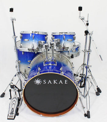Sakae Road Anew Blue Silver Fade Set mit Hardware