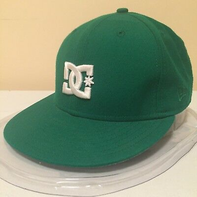 DC Shoes 7 1/4 (57.7cm) Kelly Green 59FIFTY WOOL Logo Hat by New Era