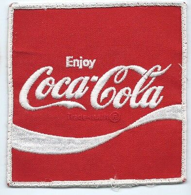 Coca-Cola Driver patch Jacket size 5 X 4-3/4