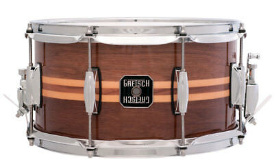 "Gretsch Full Range Snare 13"" x 7"" Walnut"