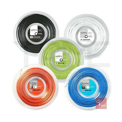 Luxilon Savage 127 Tennis String 200m Reel (Available in Black, White and Lime)