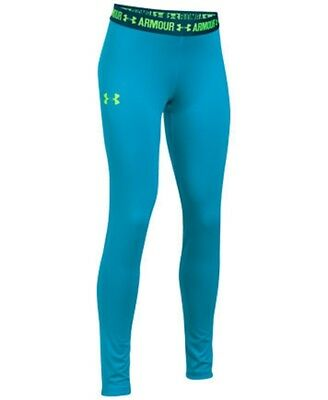 Under Armour Girls' HeatGear Solid Legging. SIZE X-LARGE. RRP 34.99. BARGAIN.