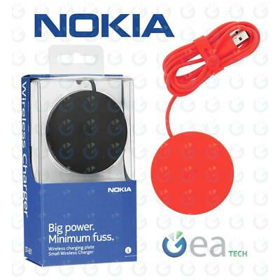 NOKIA DT601 Caricabatterie Wireless Charge ORIGINALE PAD QI Per Apple iPhone 8 X