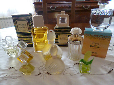 Lot de 10 flacons  de parfum factice