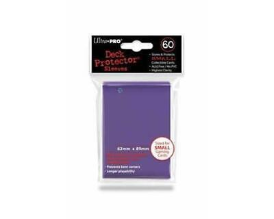 UltraPRO: 60* Mini Deck Protector - Purple
