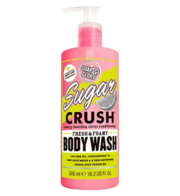 Soap And Glory Sugar Crush Fresh And Foamy Body Wash 500ml