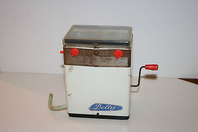 "Waschmaschine "" Dolly"" Made in Western-Germany -Blech -Puppenstube -alt"