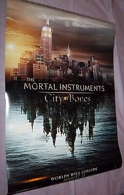 The Mortal Instruments City of Bones Original Movie Theater Poster, 27x40 Size