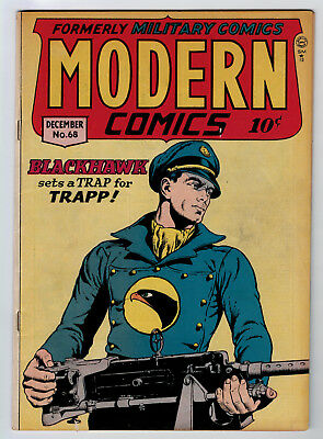 Modern Comics #68 3.0 1947 Off-White Pages