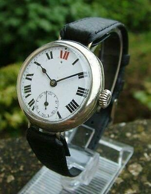 1910 Vintage Trench Swiss Watch - Very Very RARE - For Collectors