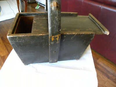 Rare Wooden Chinese Rice Bucket/box With Lid Original And Beautiful Condition