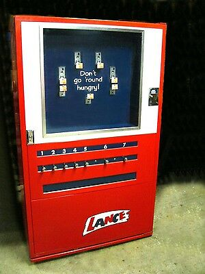 Lance U-Select Vintage Mechanical Vending Machine Collectible