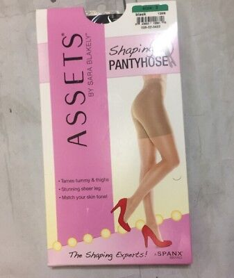 82a746a0ab5 SPANX ASSETS BY Sara Blakely Ultra Sheers Shaping Kit 845B - Black ...