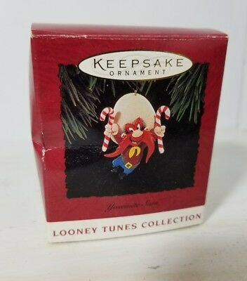Looney Tunes Hallmark Keepsake Ornament Yosemite Sam 1994 Cartoon Box