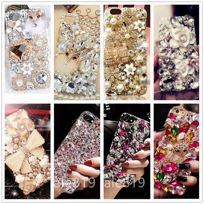Luxury Bling Diamonds Rhinestones Jewelled Case Cover For Samsung S9 Plus Note 9