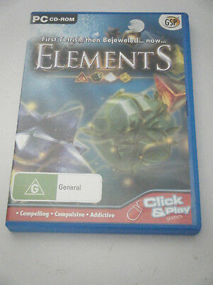PC /CD ROM - Elements.  a puzzling connect game.