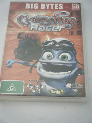 PC /CD ROM - Big Bytes - Crazy Frog Racer.