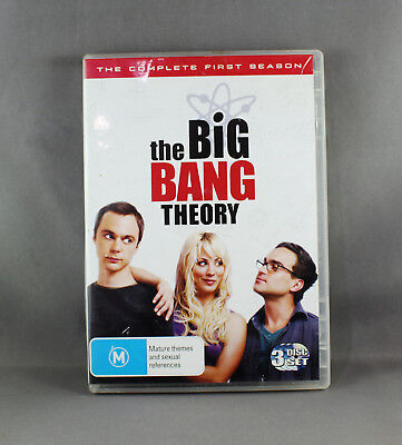 The Big Bang Theory: Season 1 (Dvd, 2009, 3-Disc Set) Like New/excellent Cond