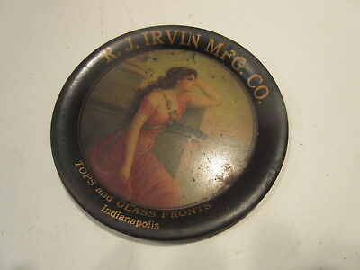 R J IRVIN MANUFACTURING CO  Tip Tray TOPS & GLASS FRONTS INDIANAPOLIS INDIANA