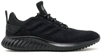 New ADIDAS Alphabounce Sneaker Mens triple black all sizes