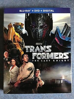 Transformers: The Last Knight (US Release, Blu-ray And DVD)