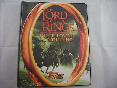 Lord of the Rings Fellowship Trading Card Binder