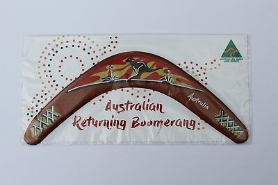 Australian Made 29cm Throwing Boomerang Sunset Carded