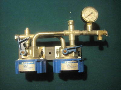 Everpure QC7 Twin Head Water Filter with Gauge never installed
