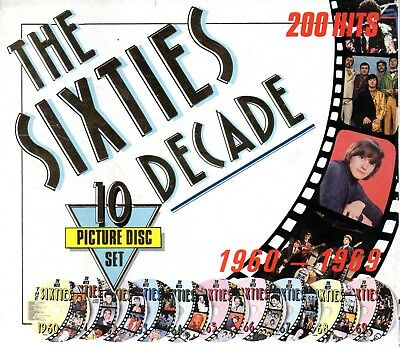 The Sixties Decade 1960-1969 - 10 x CDs Boxset  1992
