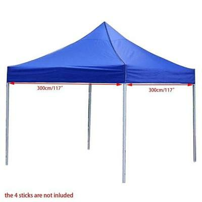 3X3M Waterproof Pop Up Garden Tent Gazebo Canopy Outdoor Marquee Market Shade H