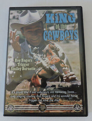 DVD - King of The Cowboys with Roy Rogers, Trigger and Smiley Burnette