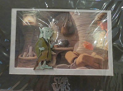 Yoda Pin Disney Star Wars Weekends 2014 Limited Edition 2000 OVP