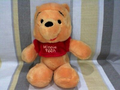 """Winnie the Pooh NEW  in Red Jumper 9"""" Plush Soft Toy"""