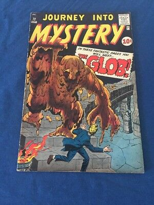 Journey into Mystery #72 (Sep 1961, Marvel) Solid Mid-Grade
