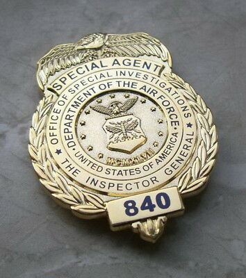 AFOSI Badge - Dienstmarke - U.S. Air Force Office of Special Investigations
