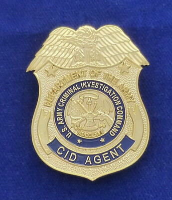 US Army CID Badge / Dienstmarke