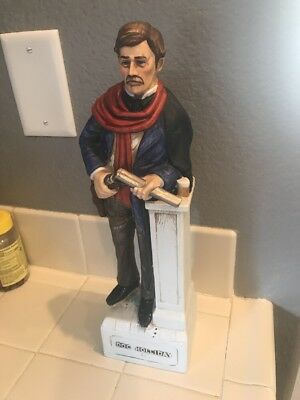 Vintage Doc Holiday McCormick Whiskey Decanter Gunfighter Series - '70's