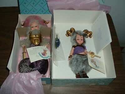 Madame Alexander Doll Lot Of 2, Capricorn 21300 & Aires 21330 New Boxed
