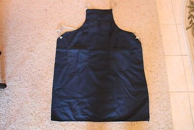 Work Canvas Apron Shop Apron with Tool pockets; adjustable straps GUC