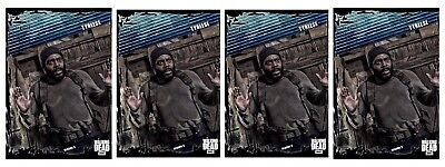 4x FALLOUT BLUE WAVE 2 TYREESE Topps Walking Dead Trader Digital Card