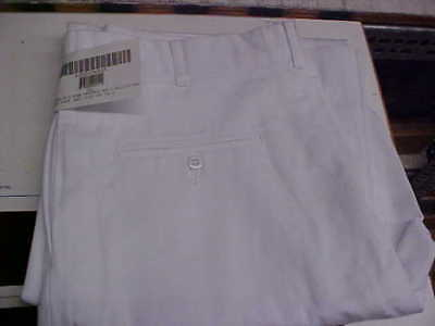 USN Navy Sea Cadet Male Enlisted Dress Whites Pants Bell Bottoms 37R loc#W209