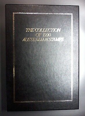 The Collection of 1990 Australian Stamps Album,56 Illustrated Pgs,No Stamps,#107
