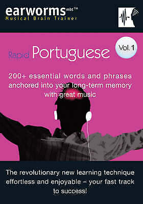 Learn To Speak Portuguese - Vol 1. 200+ Essential Words/Phrases. SEALED.