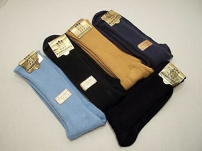 5 Vintage Westminster Fine Quality Mens Dress Socks Size 10-13 New With Tags Lot