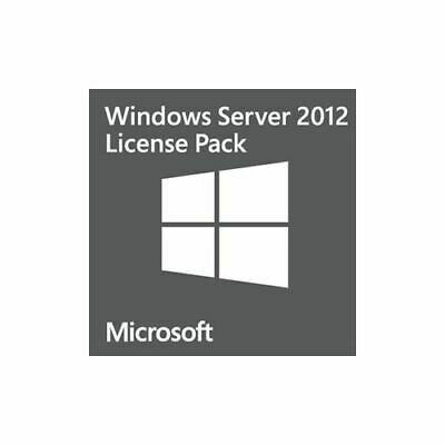 Microsoft OEM 1 USER CAL PACK FOR WINDOWS SERVER 2012