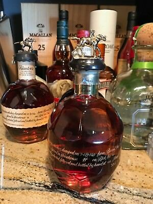 The Very Rare Blanton's Gold  Bourbon Whisky. Not Distributed For Sale In U.s.!