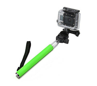 GoPro Hero 5 Sessions Selfie Stick Adjustable Telescoping Monopod Pole Hot Green